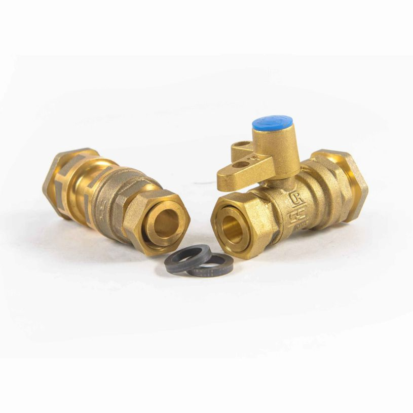 DN15 Connection Kits: PE25 Pipe