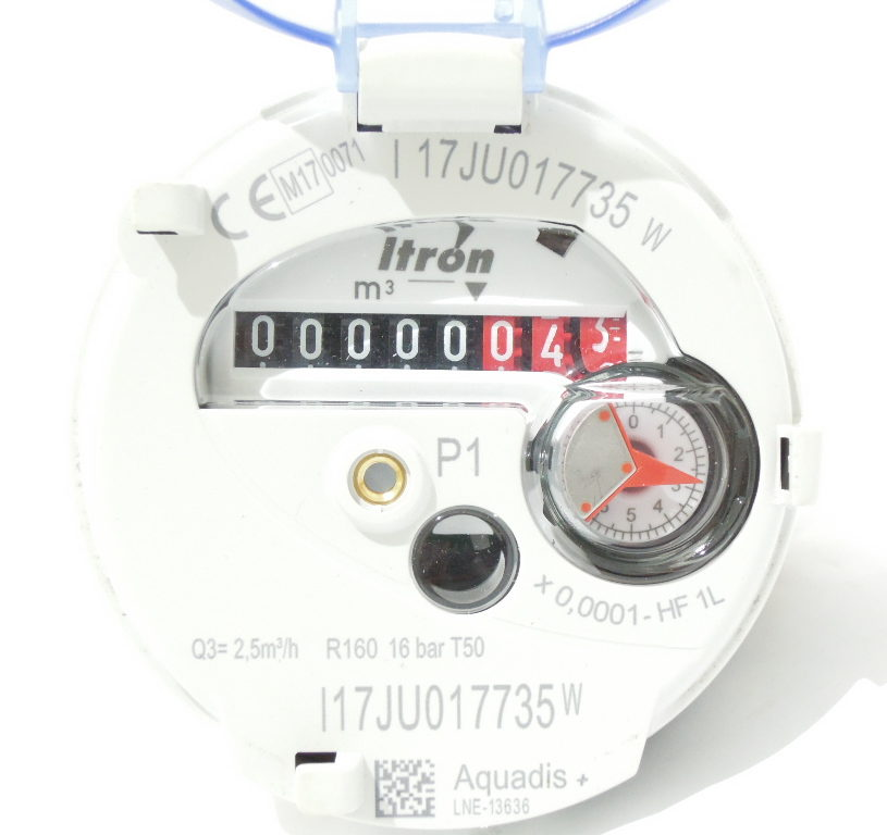 DN15 Manifold Meter (Itron Aquadis+)