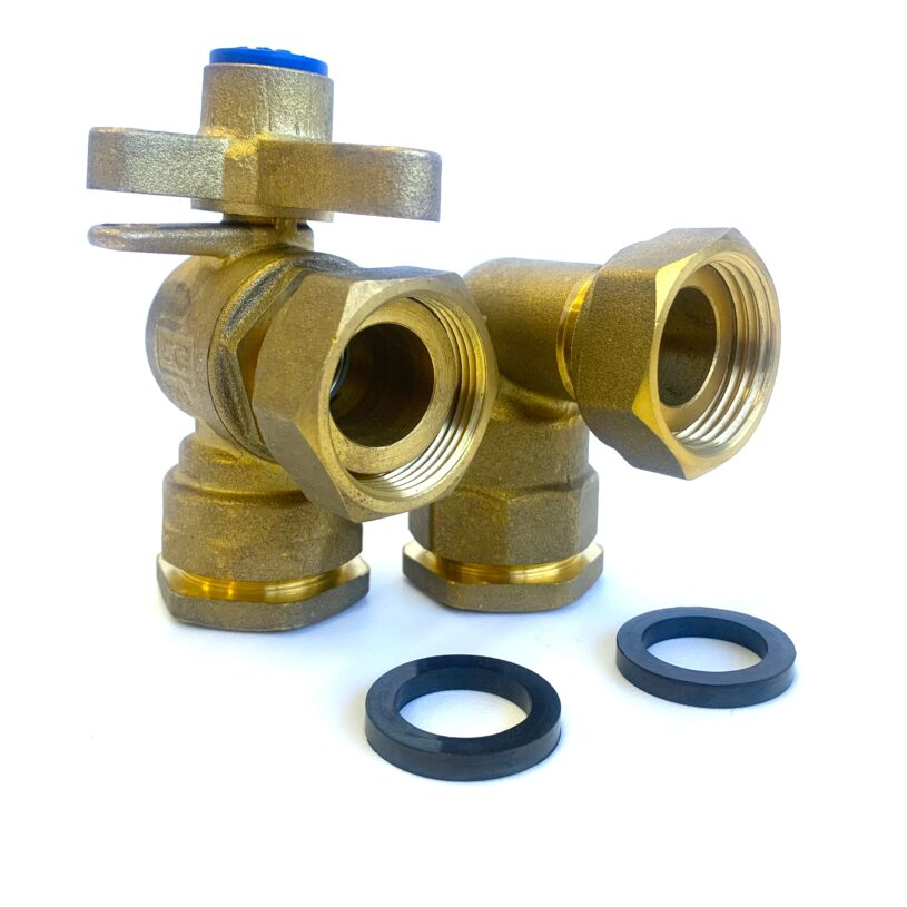 DN20 Right Angle Connection Kits: PE25 Pipe